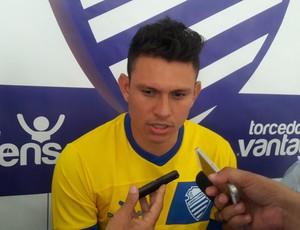 Rafael Oliveira CSA (Foto: Denison Roma / GloboEsporte.com)