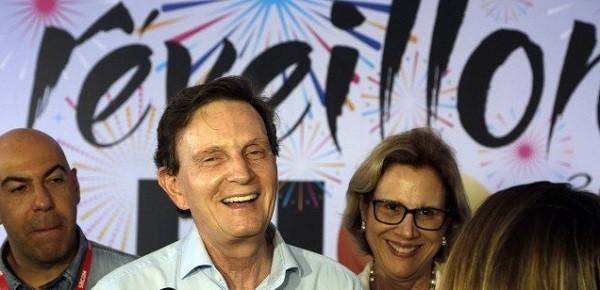 """O prefeito Crivella: """" (Foto: Agência O Globo/ Reprodução)"""