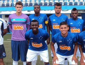 Foto do time sub-20 do Cruzeiro no Brasileiro sub-20 (Foto: Divulgação \Cruzeiro)