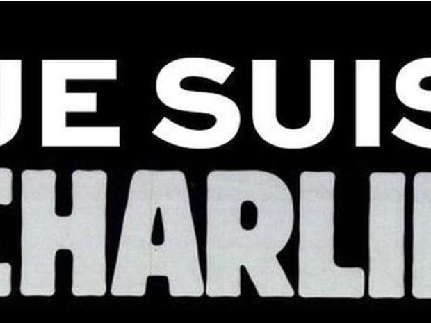 Je Suis Charlie ou 'Eu sou Charlie' virou campanha de solidariedade na internet (Foto: Ivalay Twitter/BBC)