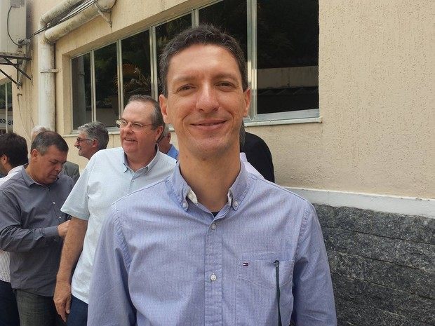 Wilton Jorge Mattos Neves, secretário de Turismo (Foto: Juliana Scarini / G1)
