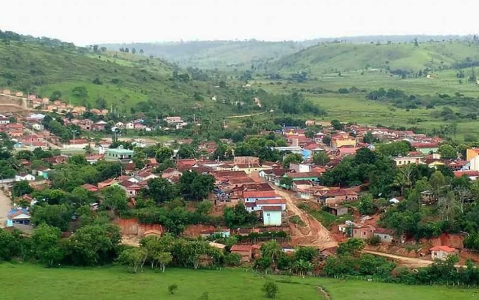 Cidade de Bertópolis, no Vale do Jequitinhonha (Foto: Quequeu Viana/Arquivo pessoal)