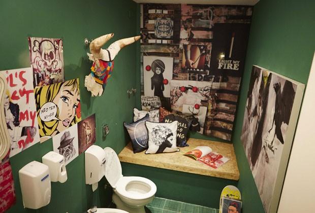 Banheiro da galeria de arte digital Urban Arts é um dos 26 selecionados pena Neve (Foto: Divulgação)