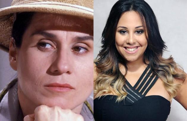 Evelyn Castro será Mrs. Penn Taylor, uma caçadora de vampiros. Na trama de Calmon, o papel era de Vera Holtz (Foto: TV Globo/Vinicius Bertoli)