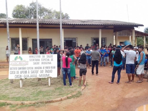 Segundo o coordenador do Distrito Sanitário Indígena (Dsei) , a obra já foi licitada (Foto: Cleilson Sales/ Rede Amazônica Guajará)