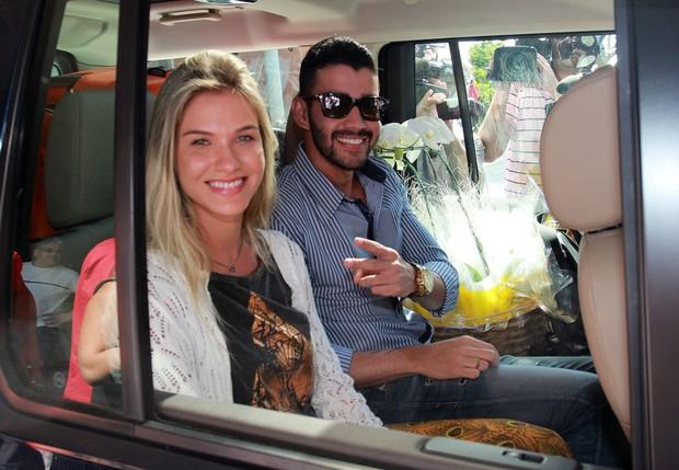Andressa Suita e Gusttavo Lima (Foto: Celso Tavares / Ego)