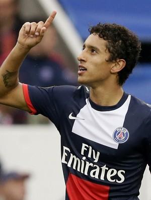 marquinhos gol paris saint germain (Foto: AFP)