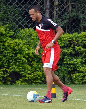 Luis Fabiano São Paulo (Foto: Site oficial SPFC)