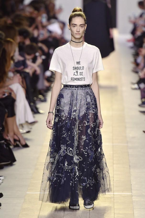 Dior Primavera/Verão 2017 (Foto: Getty Images)