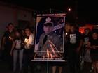 Filho de PM morto em assalto a lotérica pede perícia na arma do pai