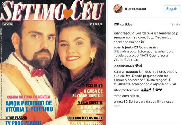 Lisanda Souto e Guilherme Karam (Foto: Instagram / Reprodução)