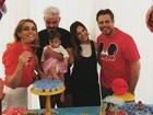 Rubia Baricelli comemora um ano da filha: 'Minha vida'