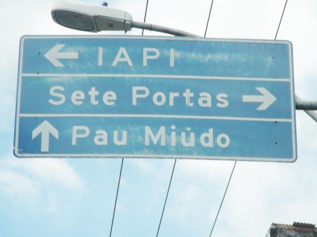 Bairro do Pau Miúdo, em Salvador (Foto: Naiá Braga/G1 BA)