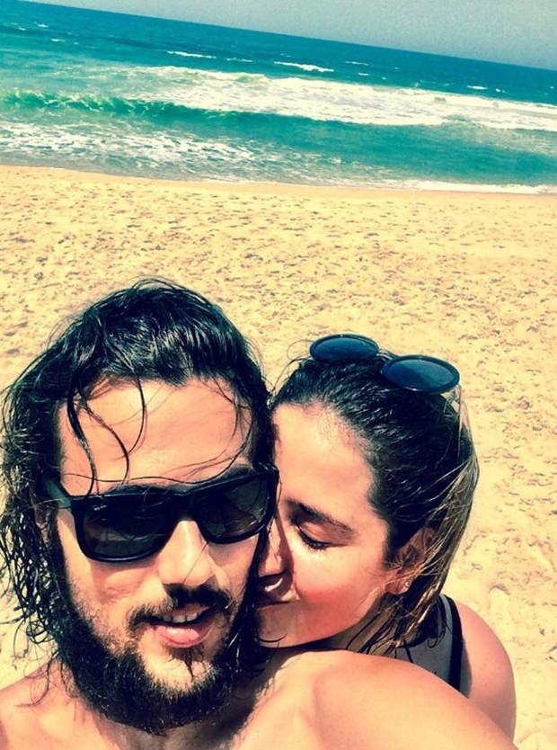 Bruno Ferrari e Paloma Duarte (Foto: Reprodução/Instagram)