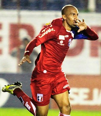 Renato Peixe Guaratinguetá Atlético-GO (Foto: Divulgação/ AGF)