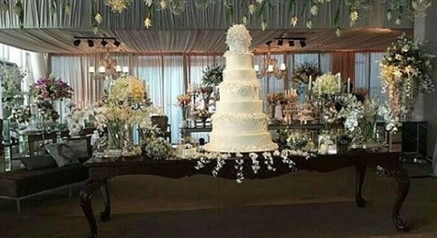 Casamento Wesley Safadão e Thiane  (Foto: Instagram / Reprodução)