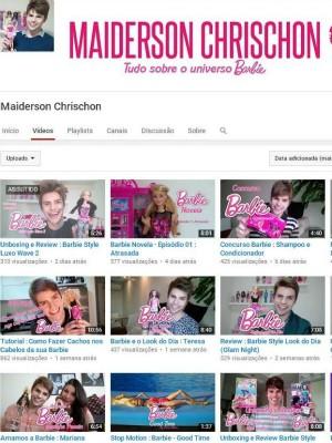 Vlogueiros Mistura com Rodaika Maiderson Chrischon Ana de Césaro Guilherme Funky (Foto: Reprodução)