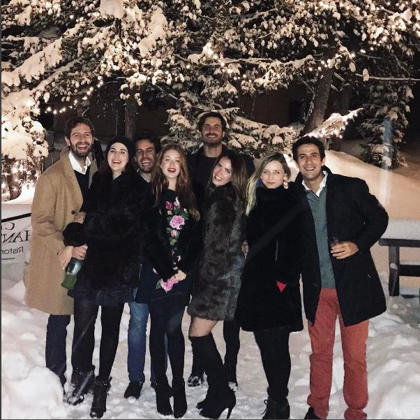 Marina Ruy Barbosa, Vic Ceridono e amigas (Foto: Reprodução/Instagram)