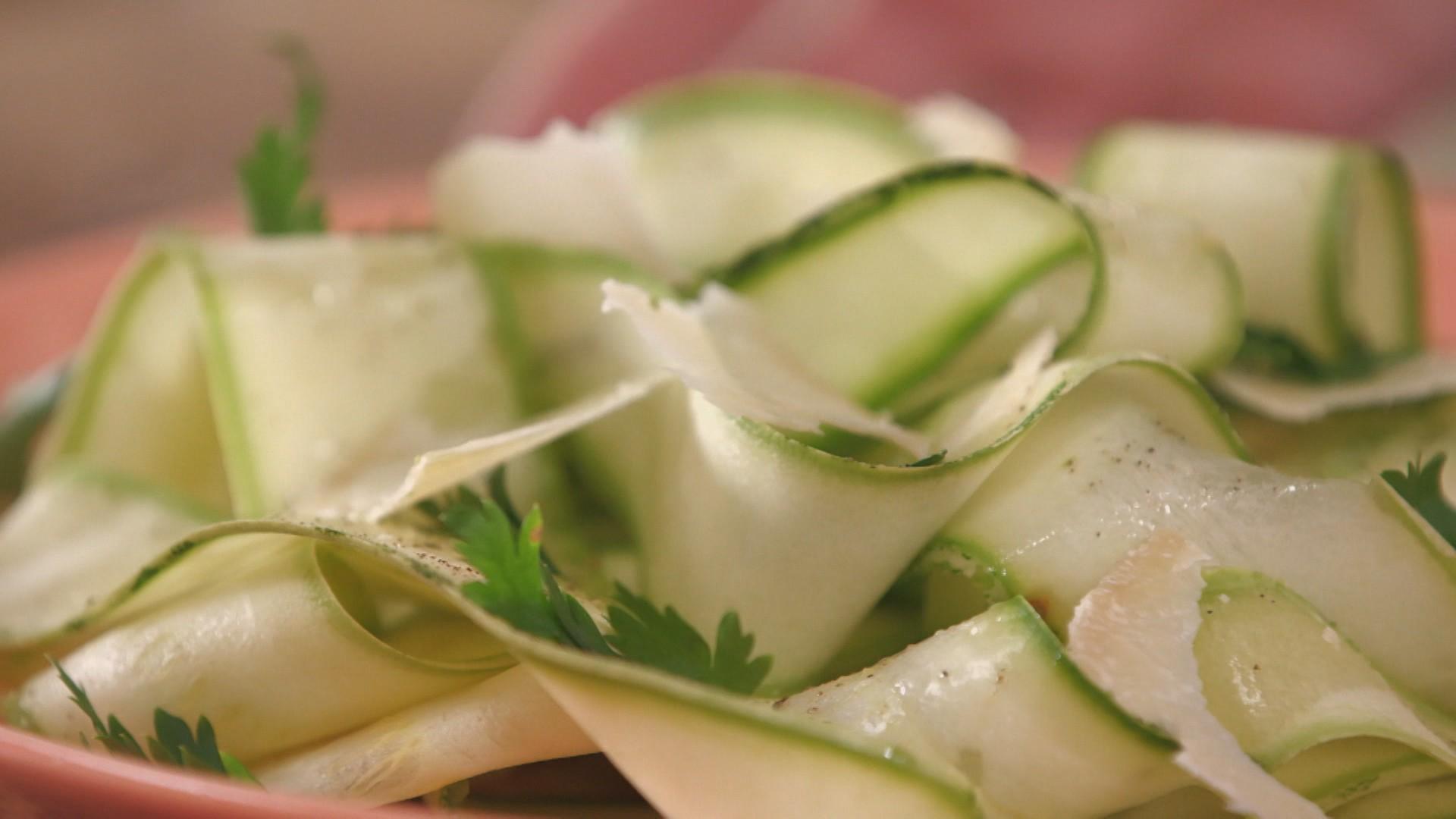 Salada de abobrinha (Foto: Divulgao GNT)