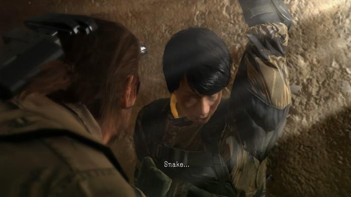 A Side Op 112 é uma reedição da primeira missão do jogo com Kojima como refém (Foto: Reprodução/Cássio Barbosa)