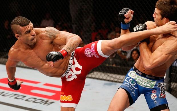 UFC Vitor Belfort e Luke Rockhold (Foto: Agência Getty Images)