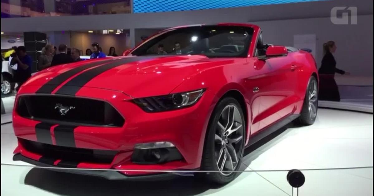 Auto Esporte - Ford Mustang conversível ganha novo visual ...