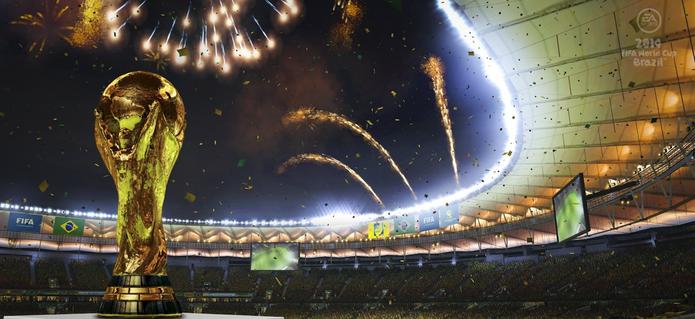 Taça do mundo Copa do Mundo da FIFA Brasil 2014 (Foto: Divulgação/EA)