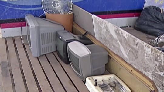 Ação recolhe televisores antigos para descarte regular no Alto Tietê