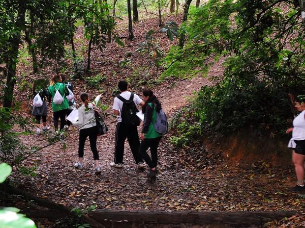 Os adolescentes terão atividades ligadas ao meio ambiente durante as férias escolares. (Foto: Divulgação/Prefeitura de Sorocaba)