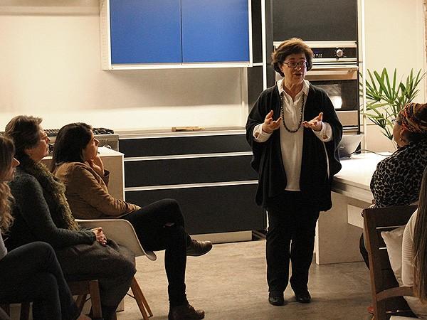 Heloisa fala sobre seu trabalho no Capril do Bosque (Foto: Patricia Oyama/ Editora Globo)