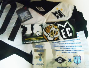 Kit do torcedor contém camisa e ingressos (Foto: Divulgação)