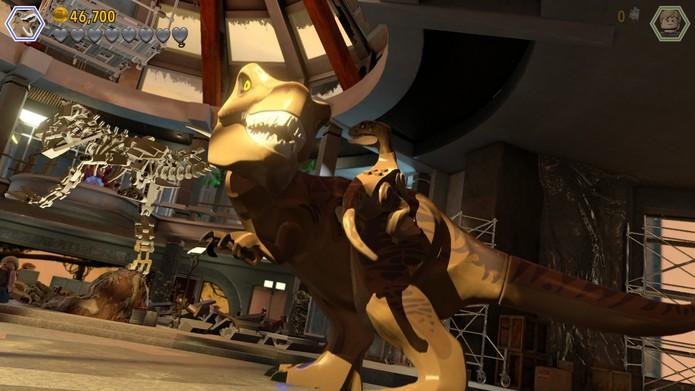 É possível controlar mais de 20 espécies de dinossauros diferentes no game (Foto: Reprodução/Cássio Barbosa)