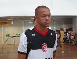 Reinaldo Alagoano Santa Rita (Foto: Viviane Leão/GloboEsporte.com)