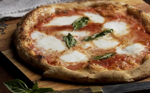 pizza margherita - melhor pizza do mundo (Foto: Divulgao/400 Grandi)