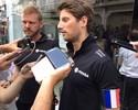 """Grosjean se preocupa com pais após atentado em Paris: """"Será difícil correr"""""""