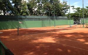Quadra tênis gávea flamengo (Foto: Rafael Lopes)