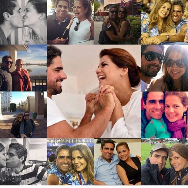 Nívea Stelmann e o marido (Foto: Reprodução/Instagram)