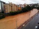 Chuva aumenta e Defesa Civil de Muriaé emite alerta; veja previsão