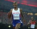 """Mo Farah, sobre possível ausência do Quênia no Rio: """"Mais fácil para mim"""""""