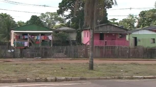 Reportagem voltou aos lugares mais afetados com a enchente de 2012 em Rio Branco  (Foto: Amazônia TV)