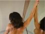 Laura Keller posa nua em lua de mel e compartilha imagem na web