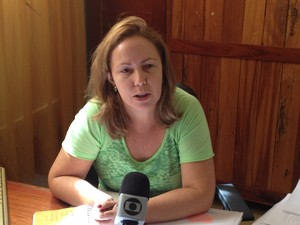 Coordenadora de educação básica da Seed Rosinete Rodrigues (Foto: Abinoan Santiago/G1)