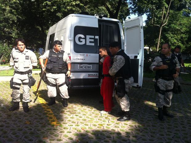 Wesley Neves dos Santos, conhecido como Timirim foi condenado a 19 anos e 6 meses de prisão (Foto: Patrícia Belo / G1)