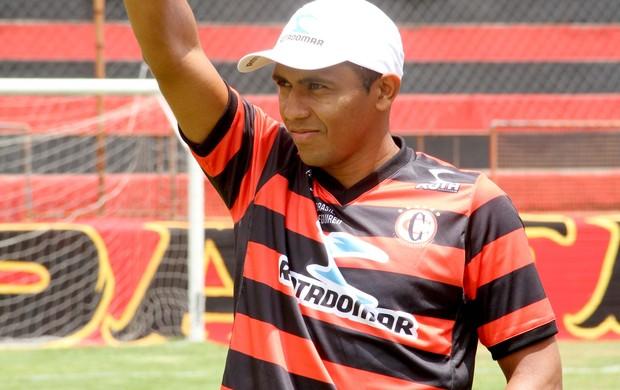 Panda, lateral-esquerdo do Campinense (Foto: Leonardo Silva / Jornal da Paraíba)