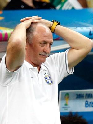 Felipão Scolari jogo Brasil x Holanda (Foto: Reuters)