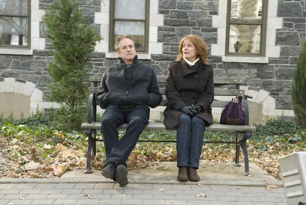 Michael Douglas e Susan Sarandon são marido e mulher no filme 'O Solteirão' (Foto: Divulgação)