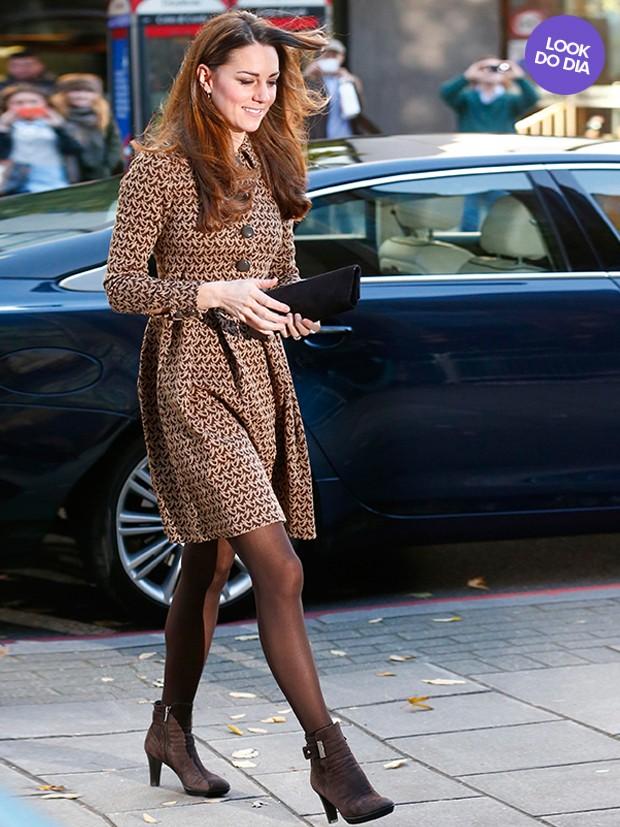 Kate Middleton - look do dia (Foto: Reuters)