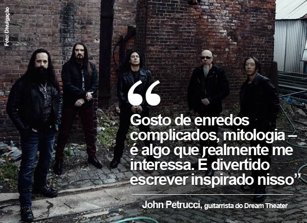 John Petrucci, guitarrista do Dream Theater, fala ao G1 (Foto: Divulgação)