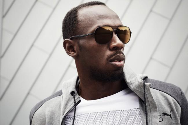 Usain Bolt lança linha de óculos em parceria com a Puma