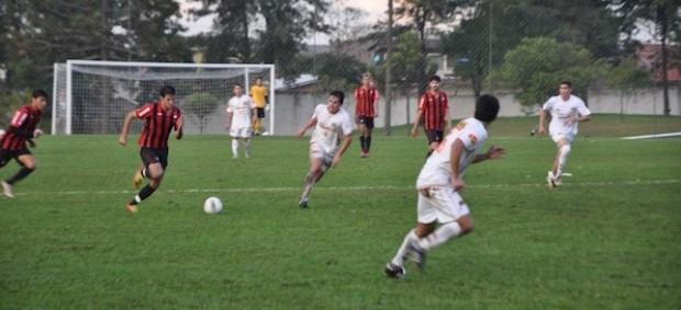 Atlético-PR sub-23 vence jogo no CT do Caju (Foto: Divulgação/Site oficial do Atlético-PR)
